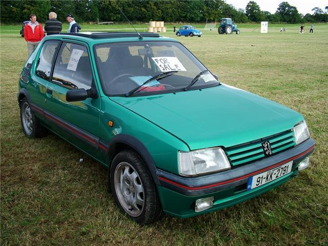 FOR SALE PEUGEOT 205 GTI, 1991, 1.6ltr 120K PMO FULL SERVICE HISTORY